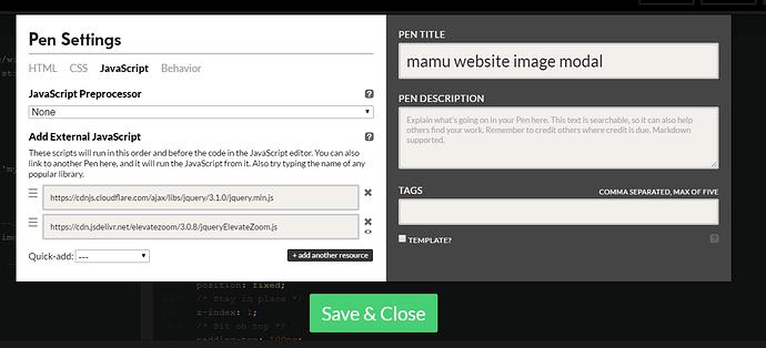 Image modal javascript - The freeCodeCamp Forum