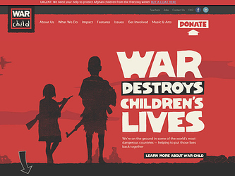 warchild-website