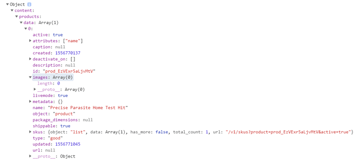 Parsing JSON from API Response - JavaScript - The