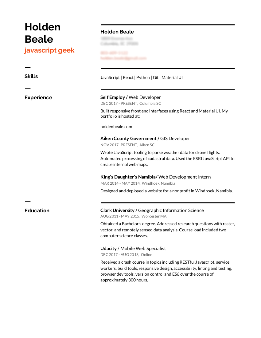 Please give me some resume feedback - Career Advice - The