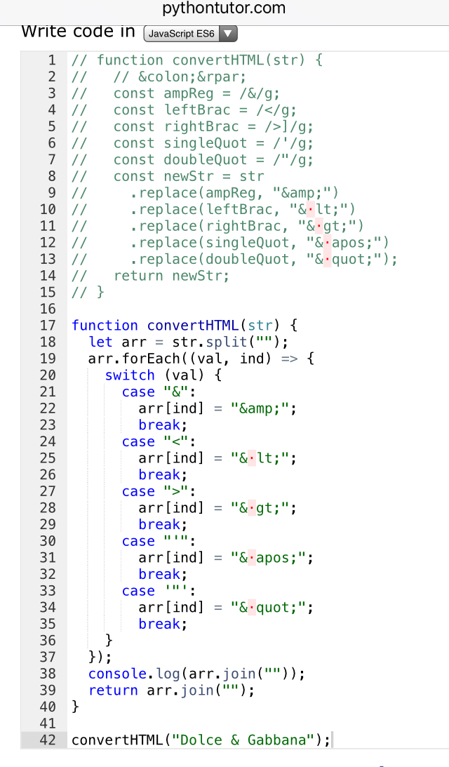 Convert HTML Entities - Weird issues? - JavaScript - The